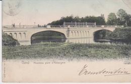 GENT  - NOUVEAU PONT D'AKKERGEM - 1908 - Gent