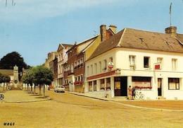 80 Crecy En Ponthieu Place Jean De Luxembourg (2 Scans) - Crecy En Ponthieu