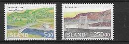 1992 MNH Iceland, Michel 768-9 Postfris** - 1944-... Republic