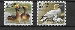 1991 MNH Iceland, Michel 738-9 Postfris** - 1944-... Republic