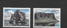 1990 MNH Iceland, Michel 731-2 Postfris** - 1944-... Republik
