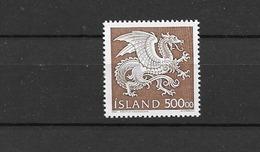 1989 MNH Iceland, Michel 703 Postfris** - 1944-... Republik