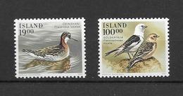 1989 MNH Iceland, Michel 697-8 Postfris** - 1944-... Republik