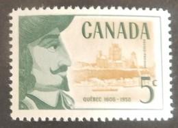 CANADA YT 306 NEUF**MNH  ANNÉE 1958 - 1952-.... Règne D'Elizabeth II