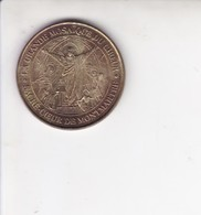 Medaille Jeton Touristique Monnaie De Paris MDP  La Grande Mosaique Du Coeur Montmartre Sacre Coeur 2002 - Monnaie De Paris