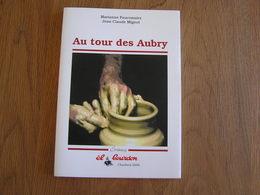 AU TOUR DES AUBRY Bouffioulx Châtelet Régionalisme Grès Poterie Potier Terres Cuites Beaux Arts Marques Signatures Art - Arte