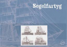 Mi 2641-44 Proof Épreuve / Sailing Ships - Proofs & Reprints