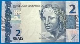 BRAZIL Banknote 2010-Cédula Flor De Estampa R$ 2,00 Reais   UNC Turtle - Brasile