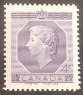 CANADA YT 265 NEUF**MNH ANNÉE 1953 - 1952-.... Règne D'Elizabeth II
