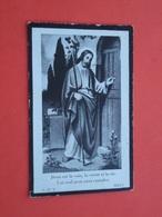 Maria Pieters  Geboren Te Lokeren 1903 En Oveleden Te Overmere 1935       (2scans) - Religion & Esotericism