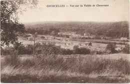91 - COURCELLES Vue Sur La Vallée De Chevreuse - Francia