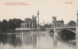 Hungary - Budapest - Mileniums Denkmal Im Stadtwaldchen - Bridge - Hungary