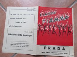 NAPOLI Cinema FIAMMA Film Meglio Vedova Virna LISI Peter McENERY Pubblicità Epoca PRADA Ecc. - Programs