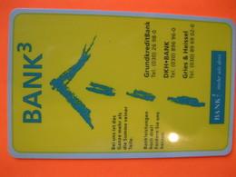 """Télécarte Bank """"tennis Club"""" Allemande - Telefoonkaarten"""