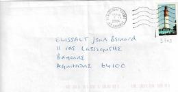 TP N° 3709 Seul Sur Enveloppe De Boulogne Sur Gesse - 1961-....