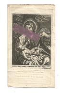 D 977. LUDOVICUS VANDERSMISSEN Echtg. A. Vanderaa - °BORGLOON / + HASSELT 1829 - Devotion Images