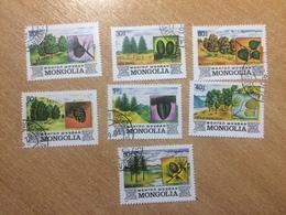 MONGOLIA, 1982 YEAR, Mi. 1489-1495 - Mongolei