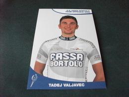G. S. FASSA BORTOLO TEAM UFFICIALE 2002 EDILIZIA CICLISMO CICLISTA TADEJ VALJAVEC - Cycling