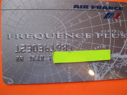 """Télécarte Air France Frequence """"point Miles"""" Anonyme - Telefoonkaarten"""