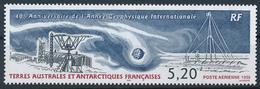 TAAF  -  1998  ,  40 Jahre Int. Geoph. Jahr  -  Forschungsstation - Terre Australi E Antartiche Francesi (TAAF)