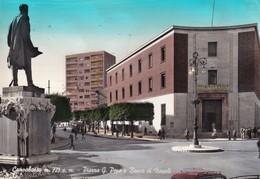 Cartolina Campobasso - Piazza G. Pepe E Banco Di Napoli. 1960 - Campobasso