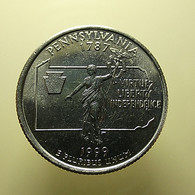 USA 1/4 Dollar 1999 Pennsylvania - Federal Issues