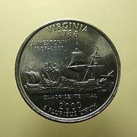 USA 1/4 Dollar 2000 Virginia - Federal Issues