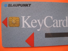"Télécarte Key Card ""blaupunk"" - Telefoonkaarten"