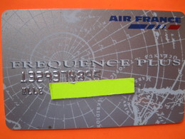 "Télécarte Air France Frequence Plus ""point Mile"" - Telefoonkaarten"