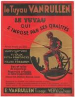 DOCUMENT PUB LE TUYAU VANRULLEN  WERVICQ NORD TISSAGE POMPIER  N4 - France
