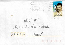 TP N° 3714 Seul Sur Enveloppe De Caen - 1961-....