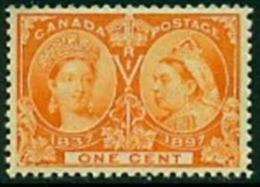 "-Canada-1897- ""Diamond Jubilee""  MNH ** - Unused Stamps"