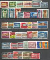 41 Stamps DIFFERENT - MNH - Europa-CEPT - Art - 1969 - Europa-CEPT