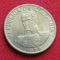 Colombia 1 Peso 1978 KM# 258.2 Colombie - Colombia