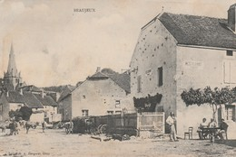 BEAUJEUX (Haute Saone) - Restaurant Tabac - Andere Gemeenten
