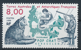 TAAF  -  1999  ,  Programm Pop Chat - Terre Australi E Antartiche Francesi (TAAF)