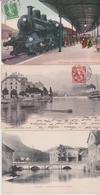 Lot De 50 Cartes Postales Anciennes De Suisse - - Postales