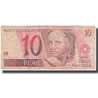 Billet, Brésil, 10 Reais, TB - Brasile
