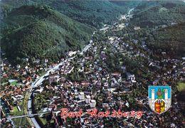 1 AK Germany / Niedersachsen * Blick Auf Bad Harzburg - Mit Wappen - Luftbildansicht * - Bad Harzburg