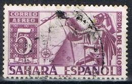 Sello 5 Pts SAHARA, Colonia Española 1950, Dia Del Sello, Num 86 º - Sahara Spagnolo