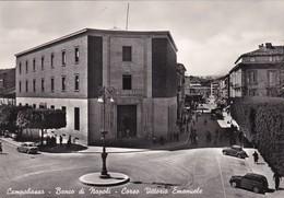 Cartolina Campobasso - Banco Di Napoli - Corso Vittorio Emanuele. - Campobasso