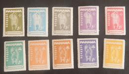 """PANAMA  YT 379/388 NEUFS**MNH """"SCOUTS"""" ANNÉE 1964 - Panama"""