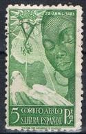 Sello 5 Pts SAHARA, Colonia Española 1951, Isabel La Catolica, Num 87 º - Sahara Spagnolo