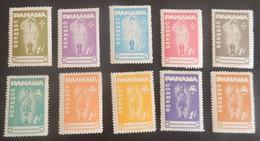 PANAMA YT 379/388 NEUFS**/*  SCOUTS ANNÉE 1964 - Panama