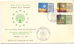 ANKARA FDC COVER TURKY 1970   (MAGG200473) - 1921-... República