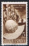 Sello 5 Pts SAHARA, Colonia Española 1952, Fernando El Catolico, Num 97 * - Sahara Spagnolo