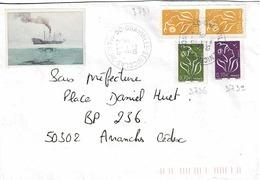 TP N° 3731,32 Et 36 Sur Enveloppe De Granville St Nicolas - 1961-....