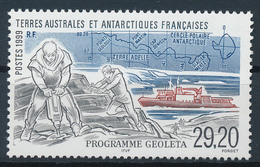 TAAF  -  1999  ,  Programm GEOLETA  -  Adelieland - Terre Australi E Antartiche Francesi (TAAF)