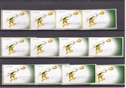 Portugal  -12 Selos Do Euro 2004 - Neufs