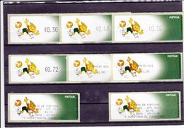 Portugal  -8 Selos Do Euro 2004 - Franchise